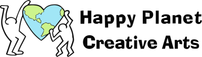 happy planet creative arts banner