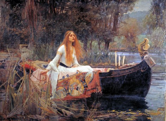 The Lady of Shalott is alive and kicking in Whitley Bay