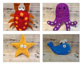 Seaside Puppets