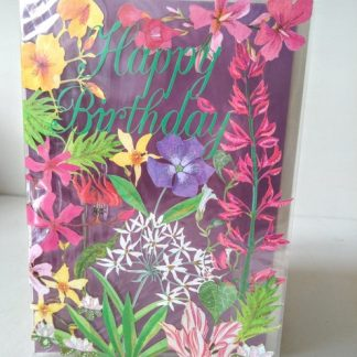 Flower Cut Out Birthday