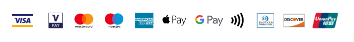 Logo's of payment types accepted by SumUp