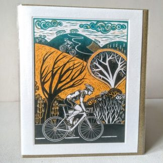 all the way up cycling card