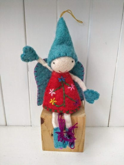 blue pointy fairy