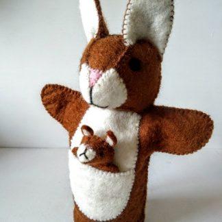 bunnyroo hand puppet