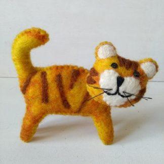 felt tiger