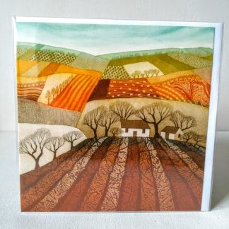 ploughed earth card