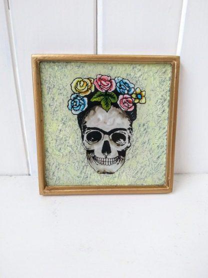 white mexican mirror